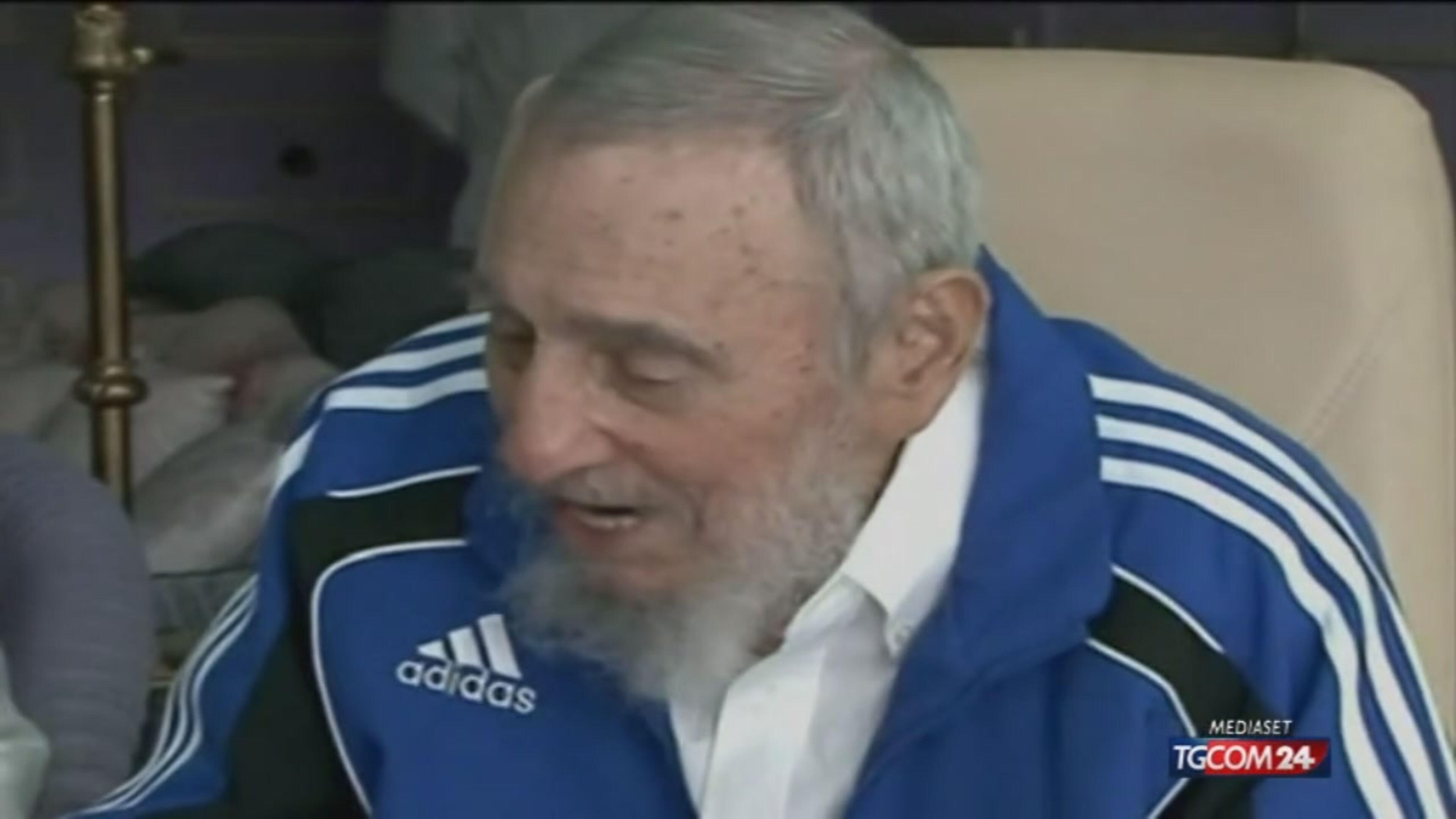 Il Papa e Fidel, incontro storico