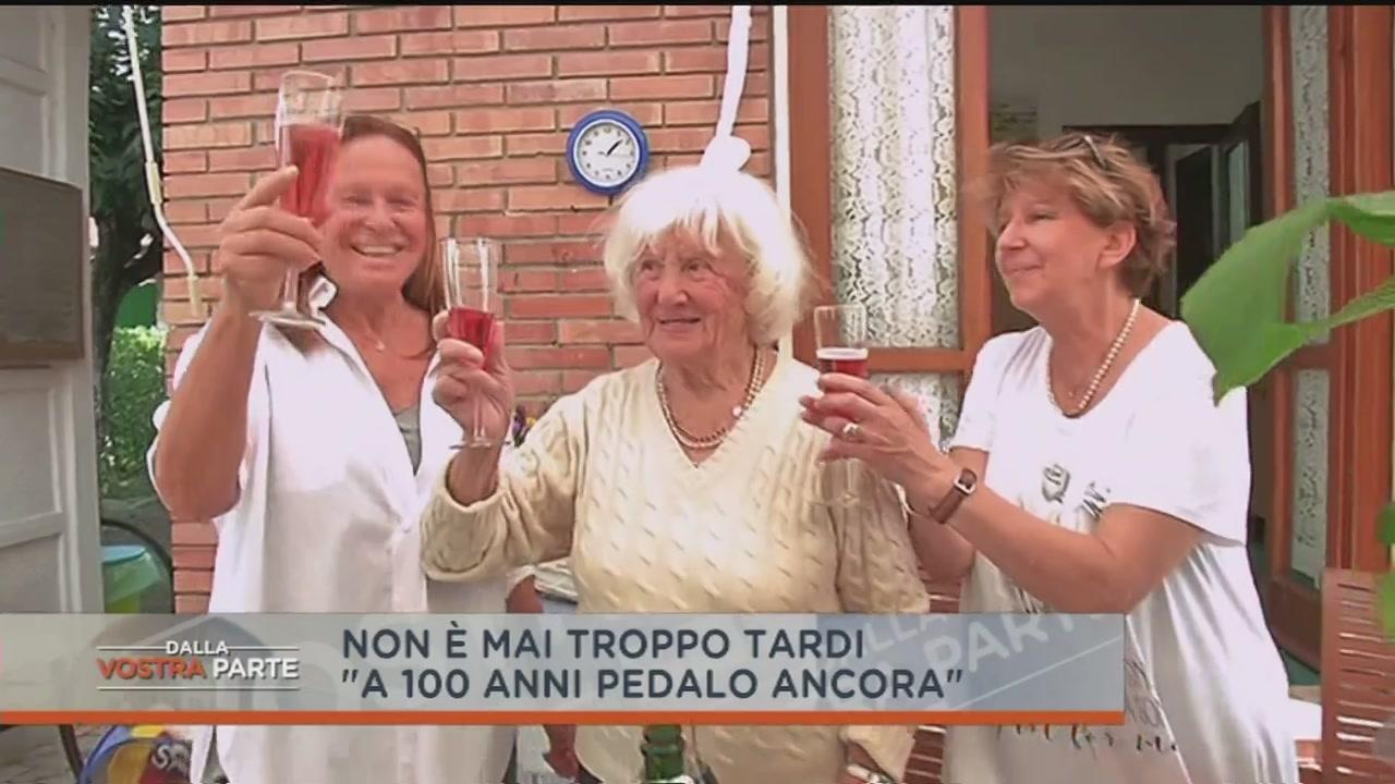 """""""A 100 anni pedalo ancora"""""""