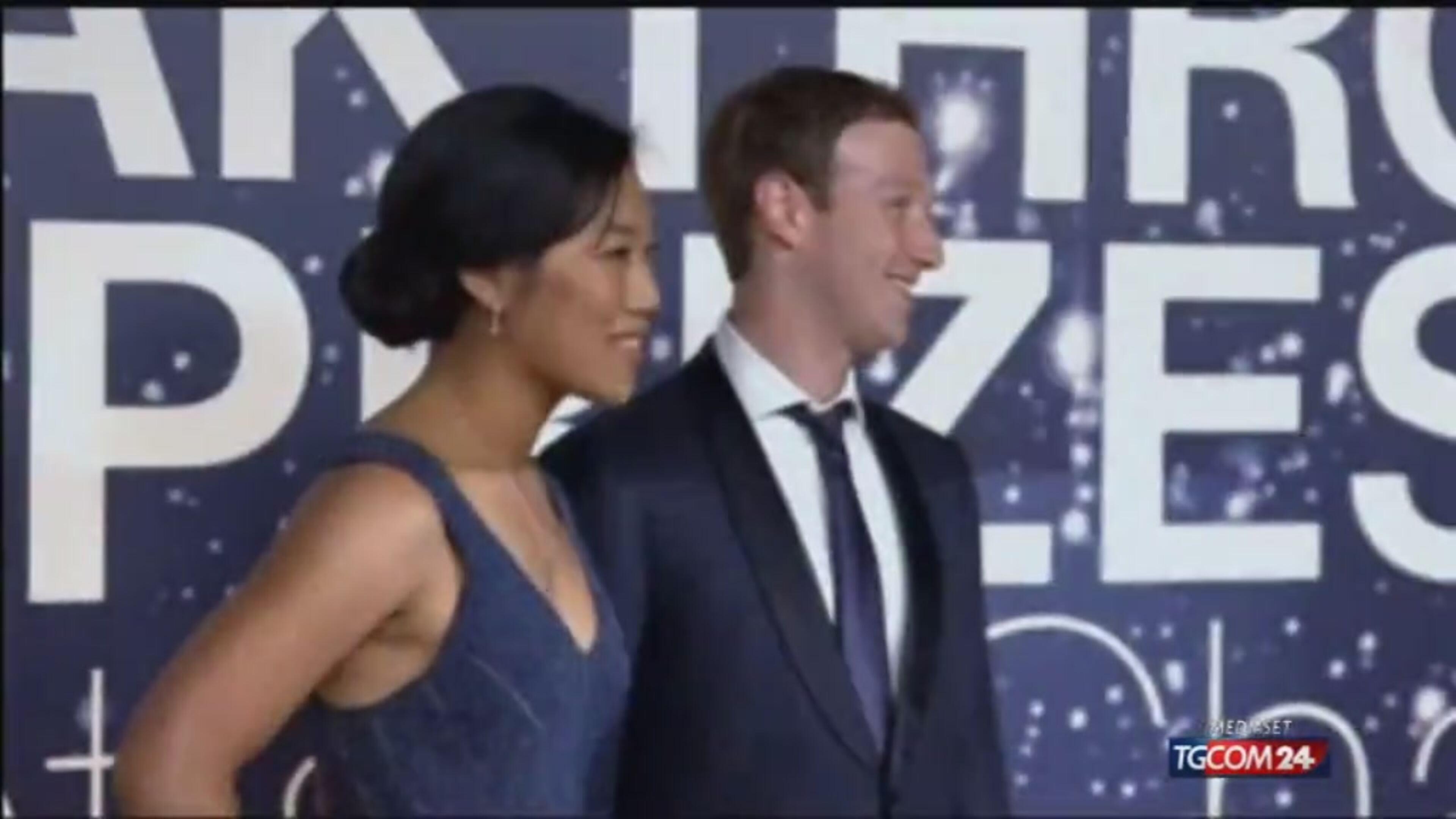 Zuckerberg papà generoso