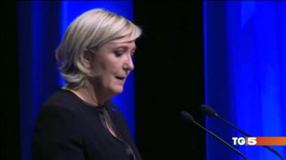 Le Pen: Francia via da Europa e Nato