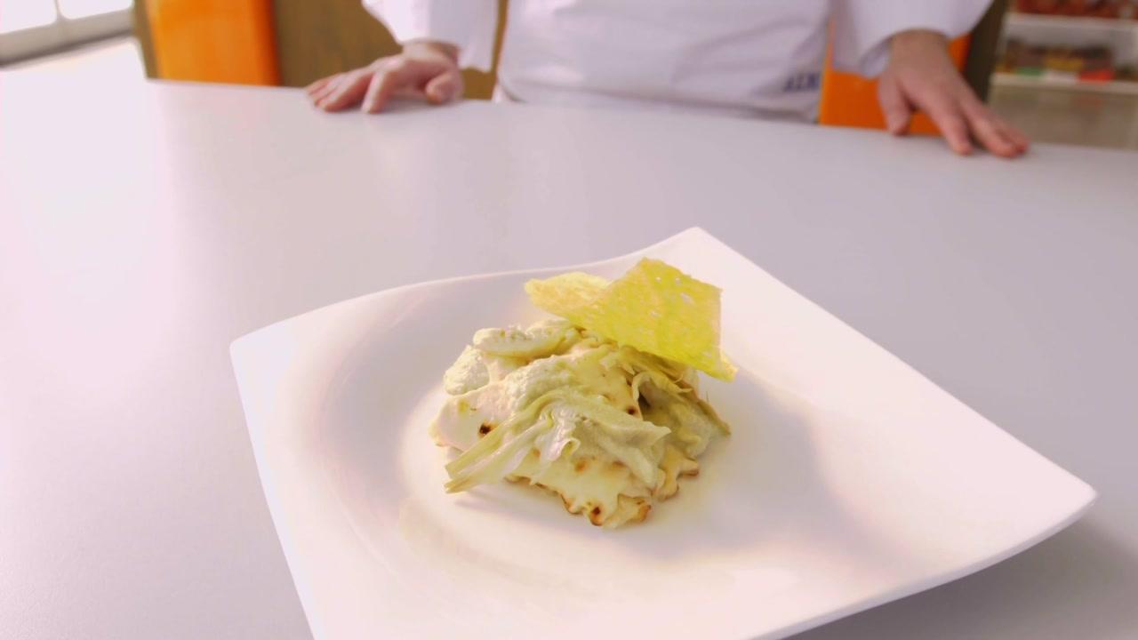 Panafittas con carciofi e patate