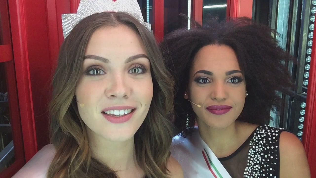La #cabinarossa di… Miss Italia e Miss Etruria