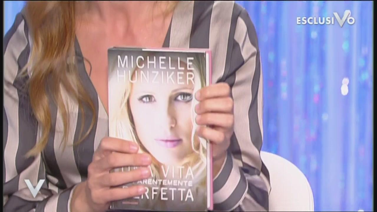 Michelle Hunziker parla del suo libro