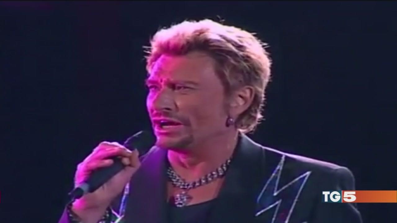 Addio Johnny Hallyday icona del rock francese