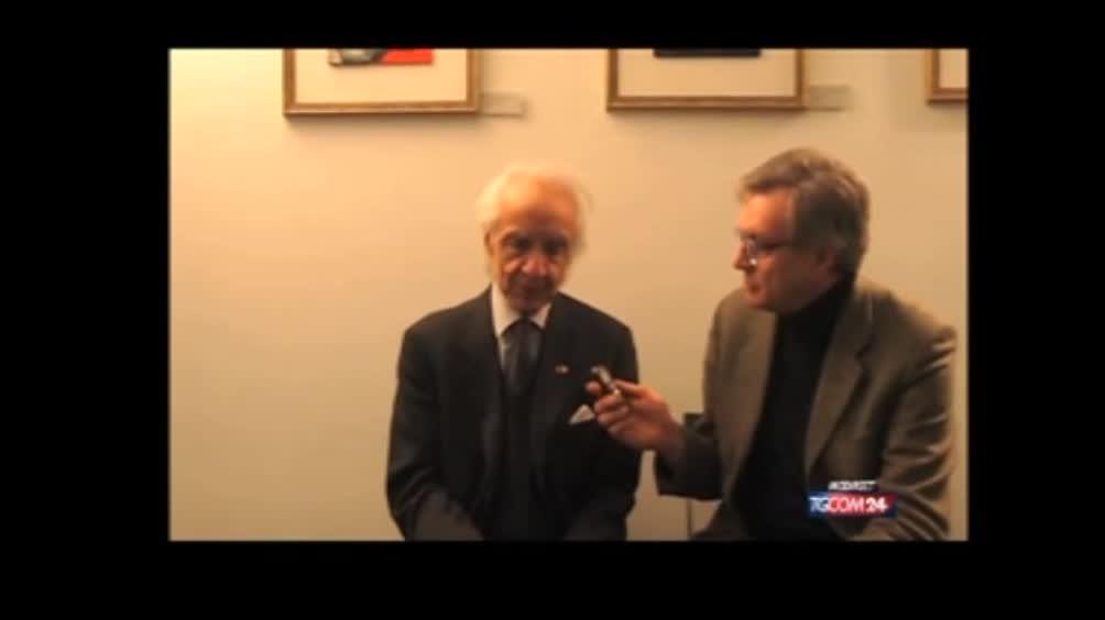"""Antonino Zichichi,intervista su l' """"Irresistibile fascino del Tempo"""""""