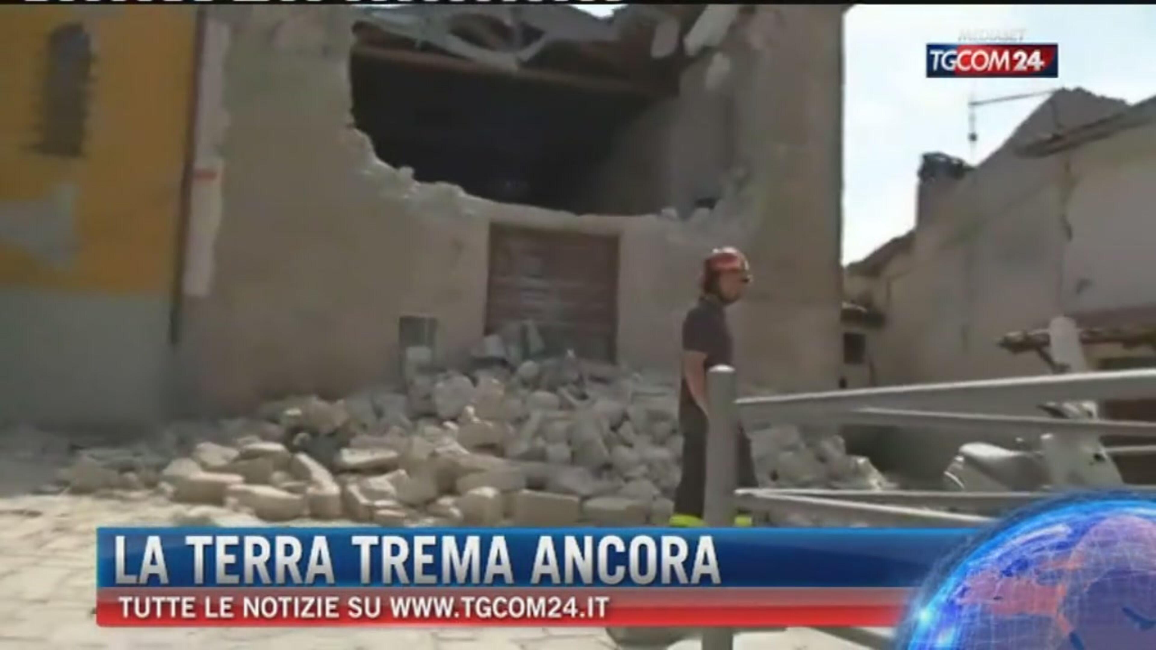 Ancora forti scosse: a Perugia sisma notturno di magnitudo 4.3, a Macerata evento tellurico di 4.5