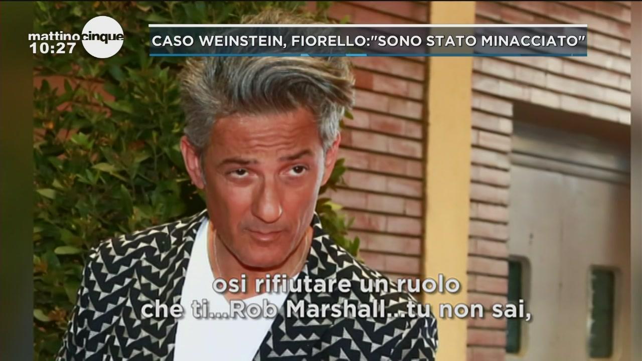 """Fiorello dopo un """"no"""" a Weinstein"""