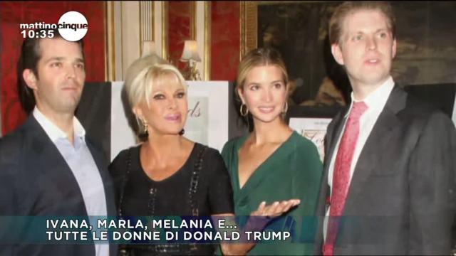 Tutte le donne di Donald Trump