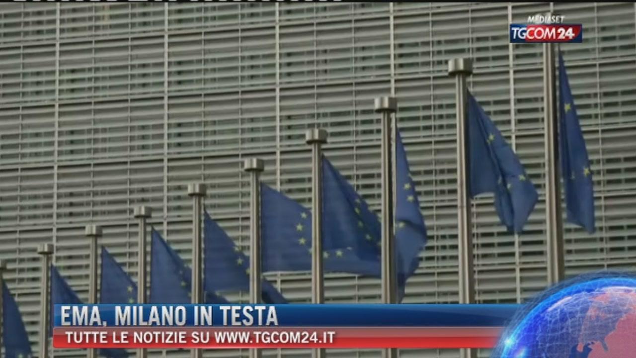 Breaking delle 17: Ema, Milano passa il primo turno delle votazioni