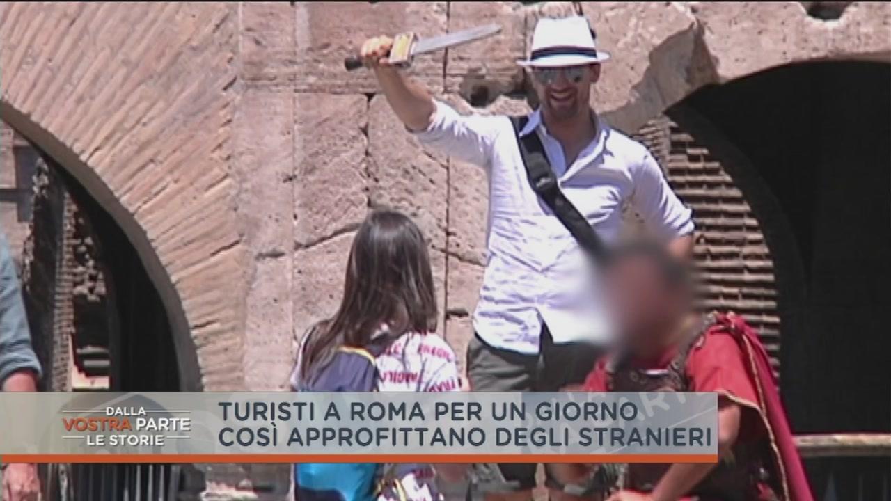 Turisti a Roma per un giorno