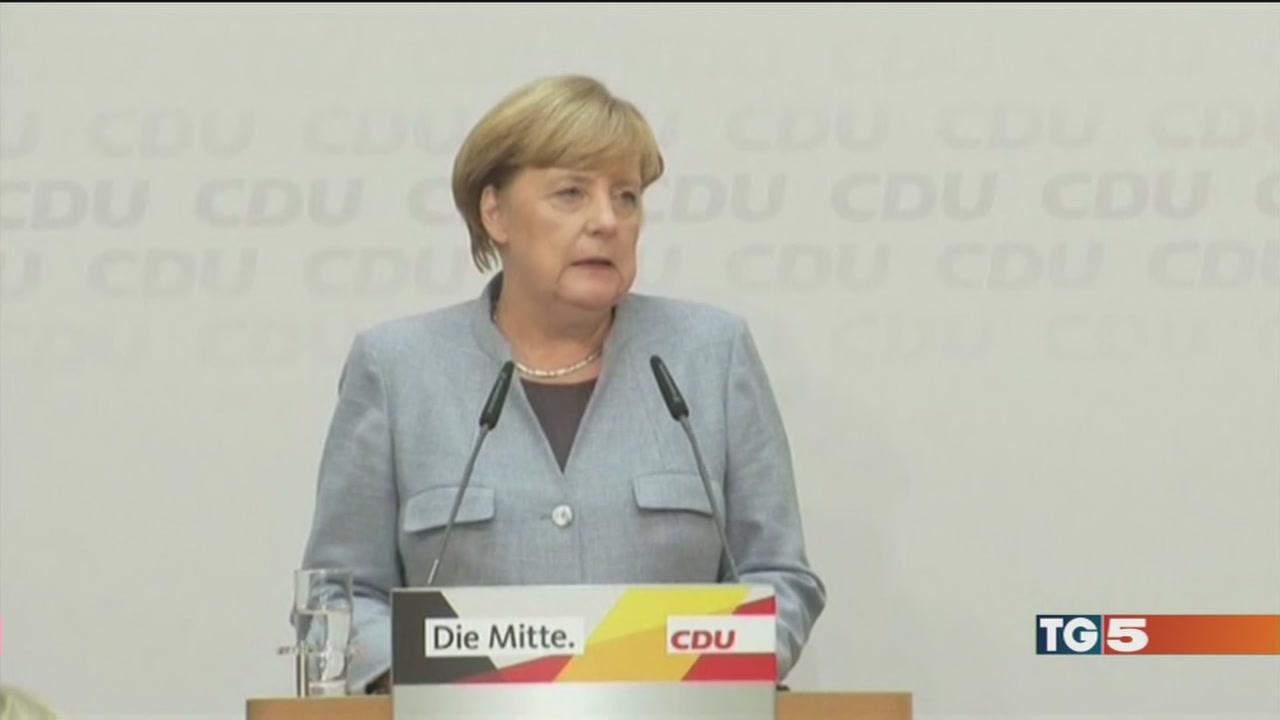 Merkel ottimista, destra già divisa