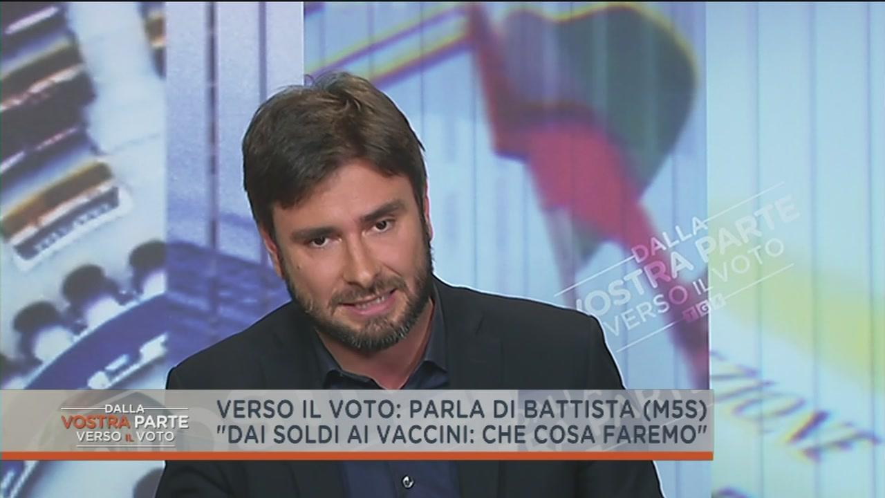 Alessandro Di Battista e i vaccini