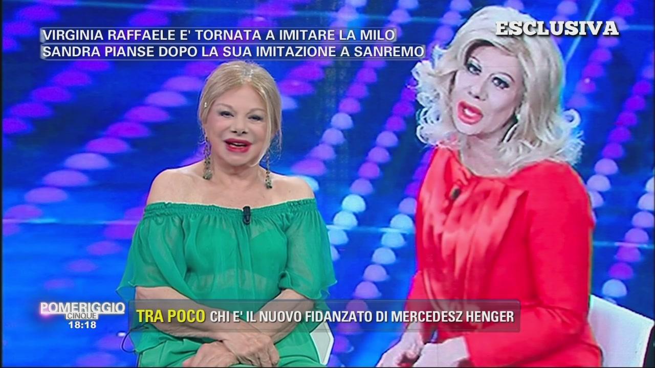 """Virginia Raffaele? Molto meglio Crozza!"""