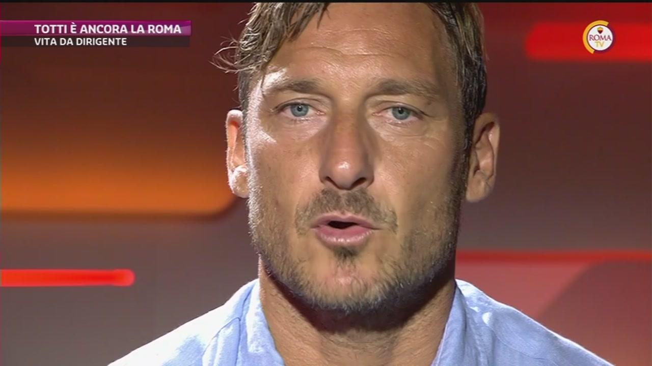 La nuova vita di Totti