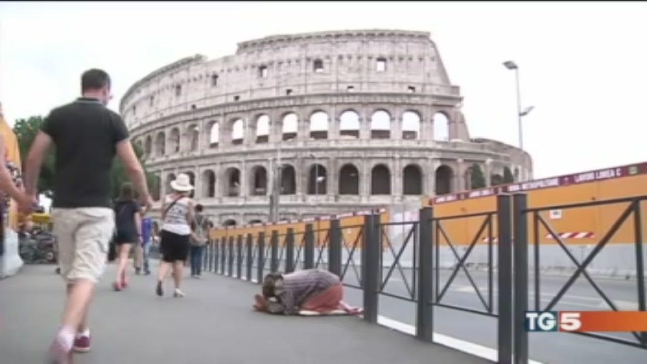 Chiusure e degrado, Roma al capolinea