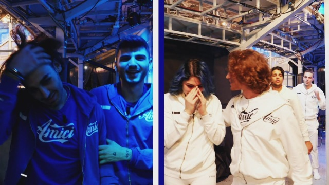 Bianchi e Blu al completo!