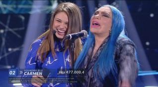 Carmen – Duetto con Loredana Bertè – III Serale – 21 aprile