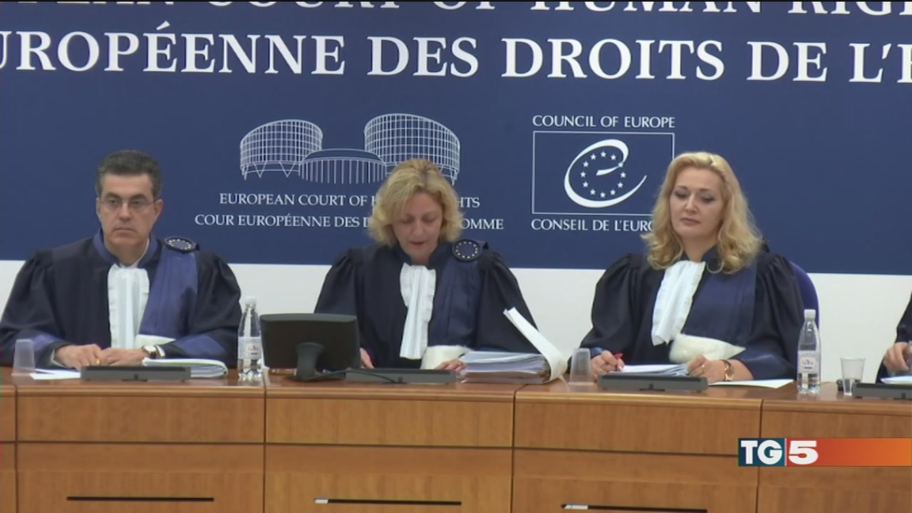 """Berlusconi e Corte UE """"sereno e fiducioso"""""""