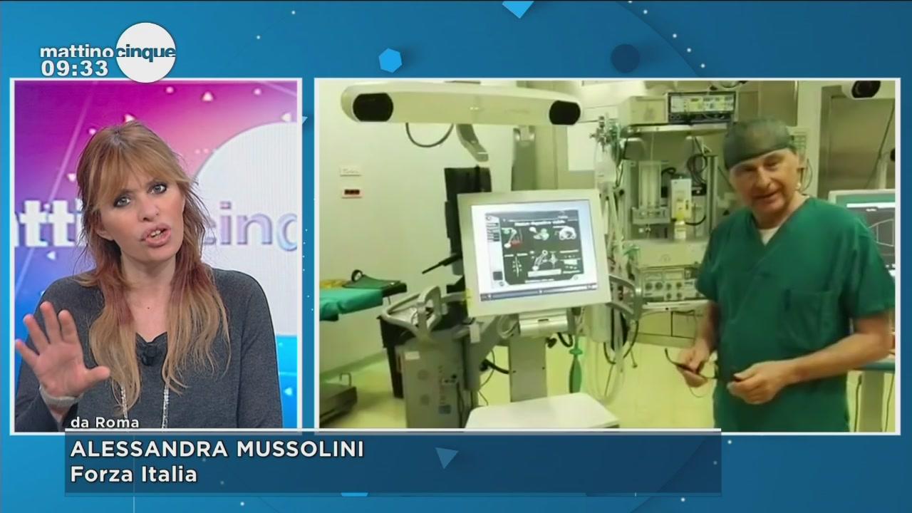 Ortopedico arrestato: l'opinione di Alessandra Mussolini