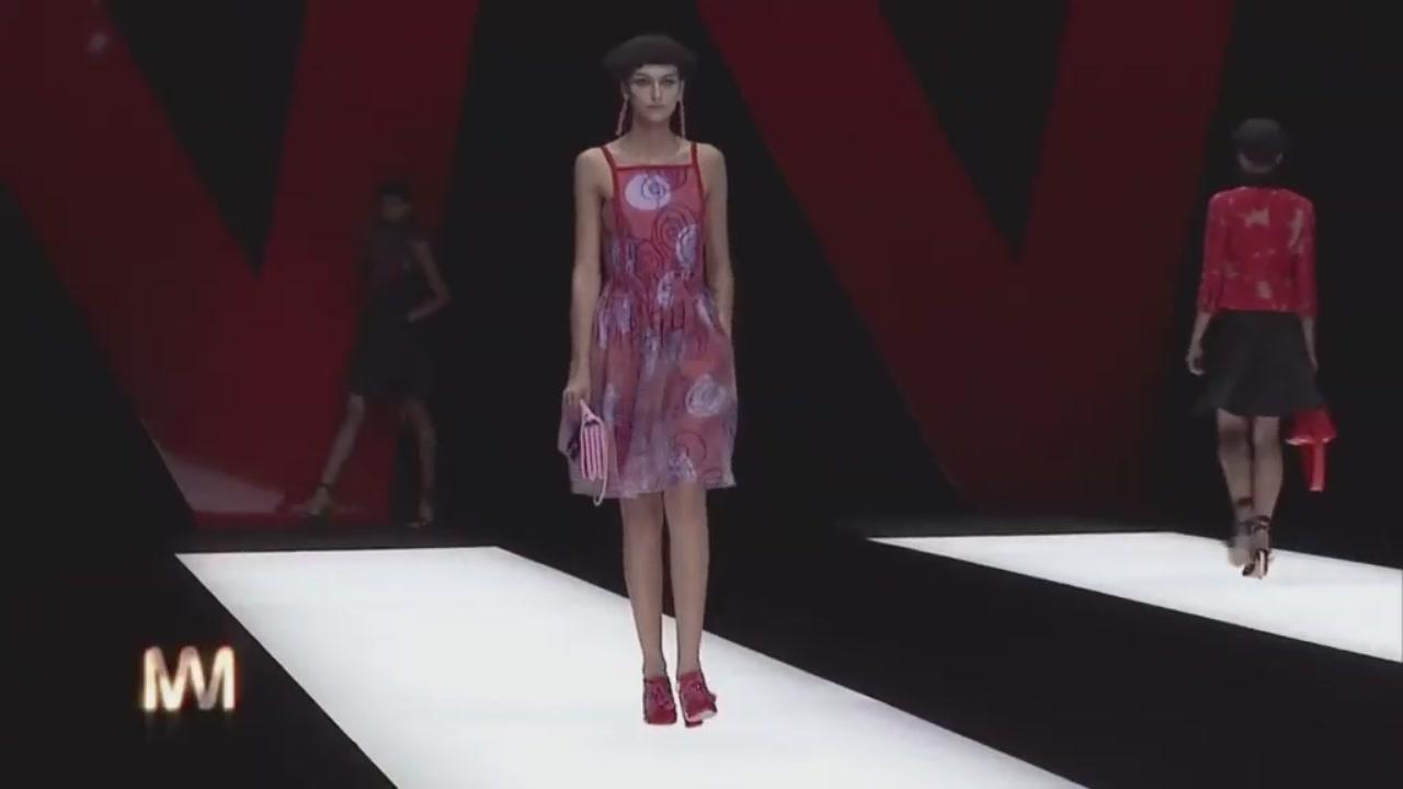 Giorgio Armani: la collezione per l'estate 2018