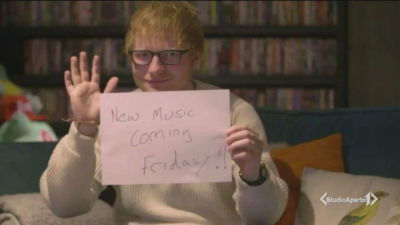 Ed Sheeran fugge da Twitter