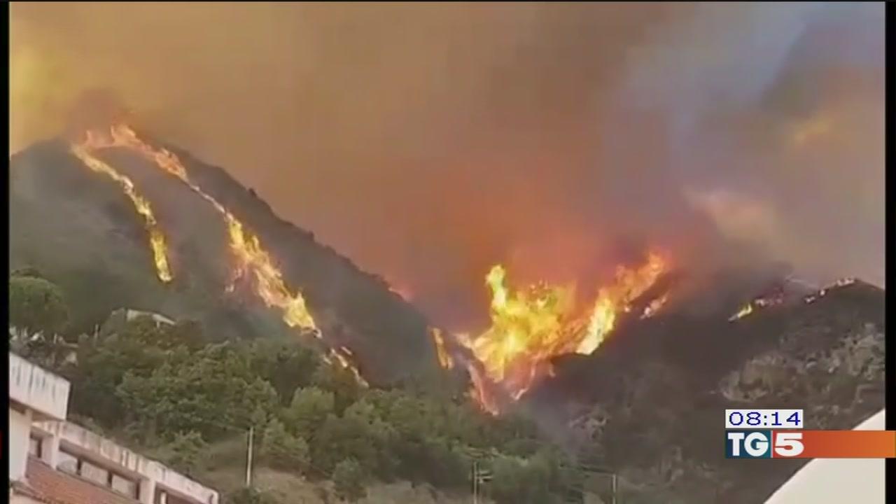 Incendi e siccità doppia emergenza