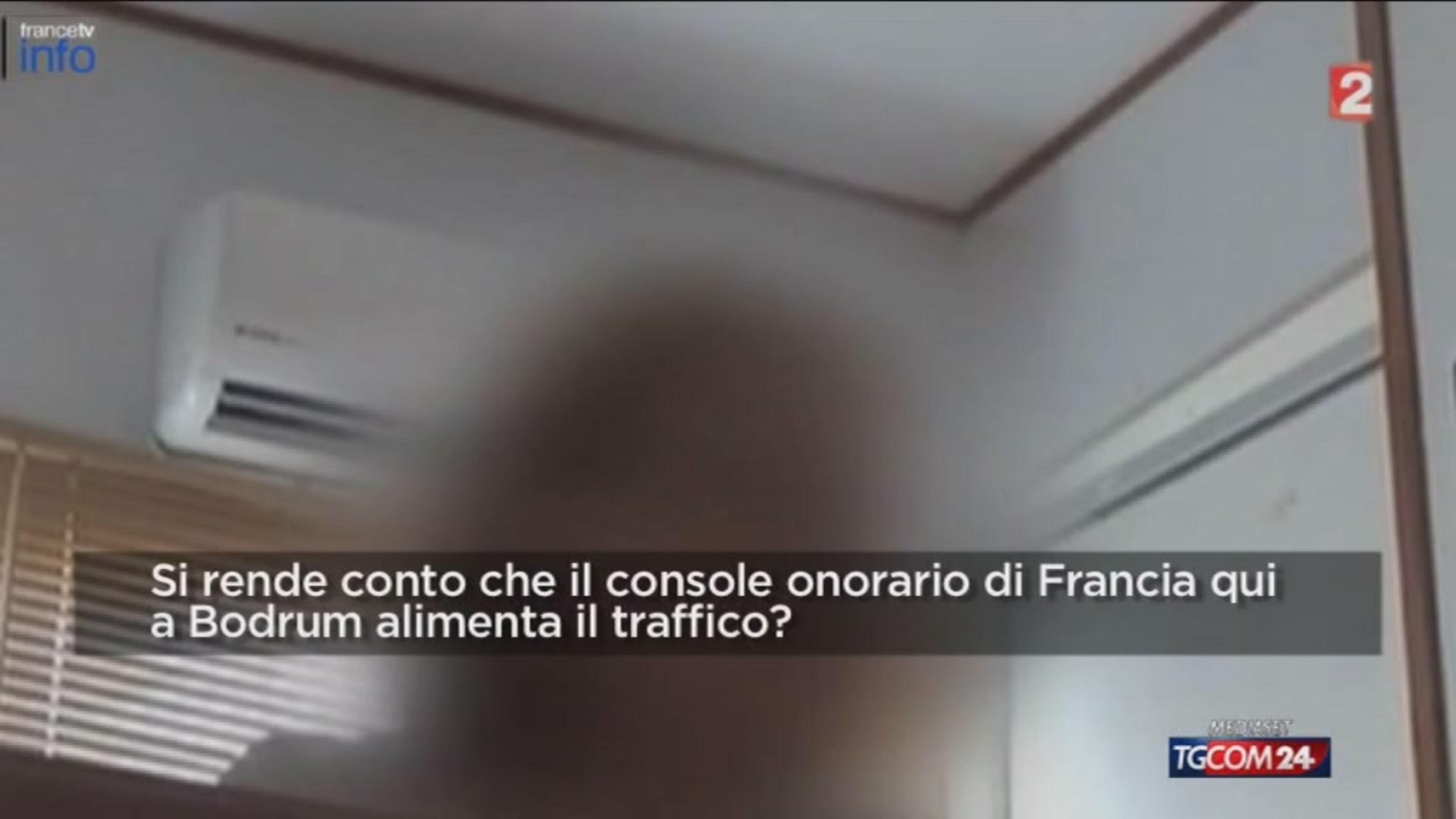 Bodrum, console francese vende gommoni a migranti