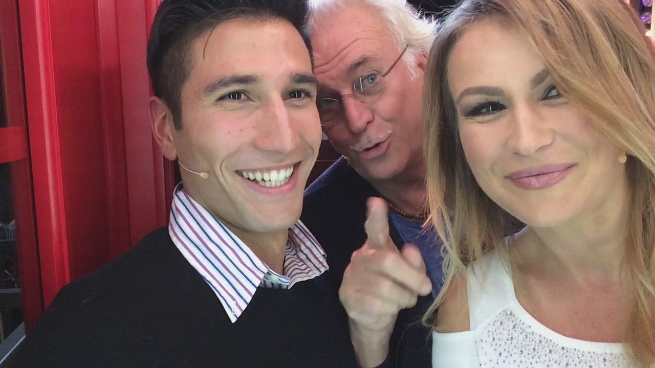 La #cabinarossa di… Marco Predolin, Gianmarco Onestini e Eva Henger