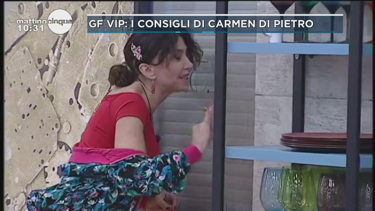 GF VIP: I consigli di bellezza di Carmen