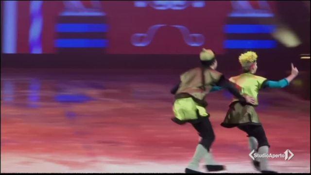 Lo Shiaccianoci sul ghiaccio a Milano