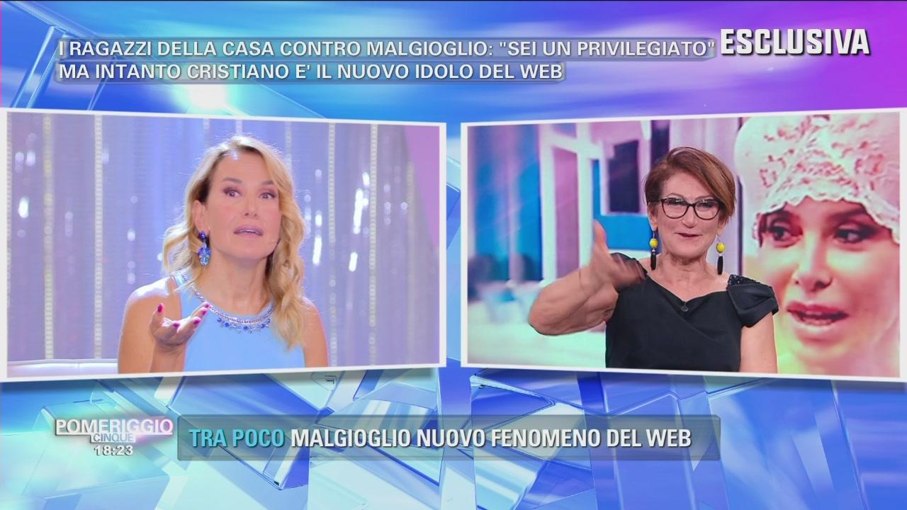 """""""Carmen ha inventato il ciuffo di Malgioglio"""""""