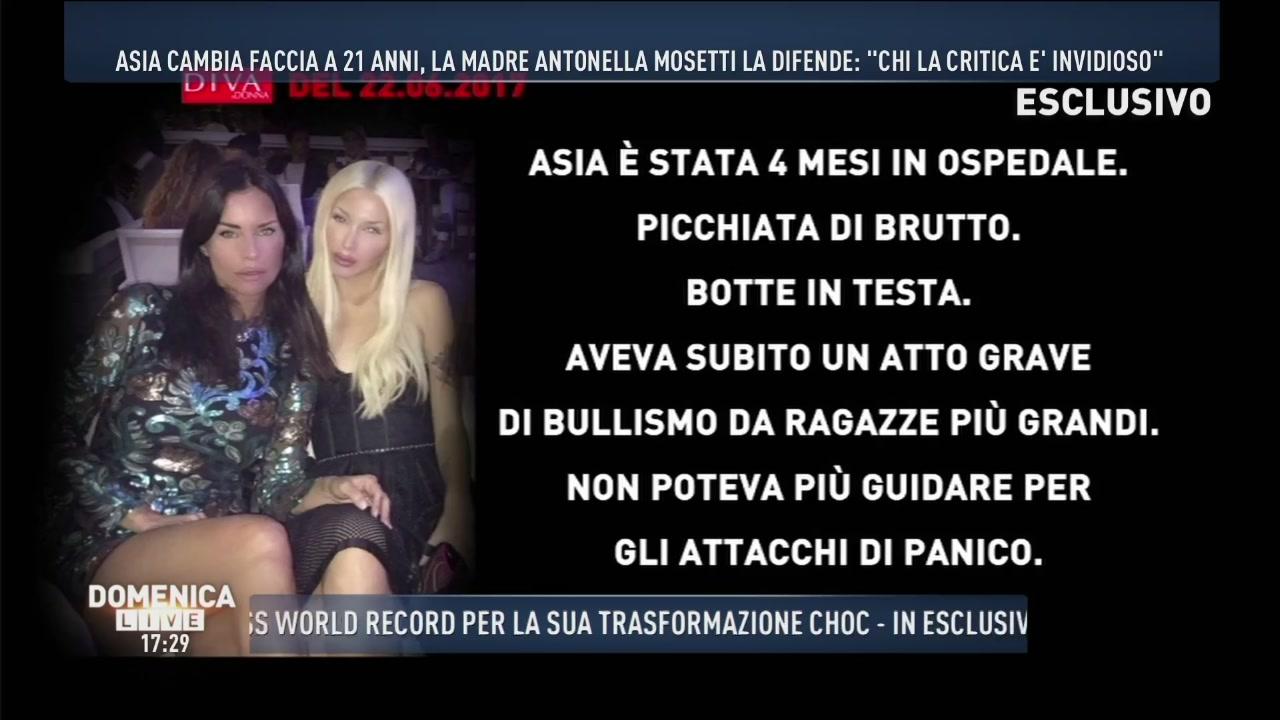 Lo sfogo di Antonella Mosetti