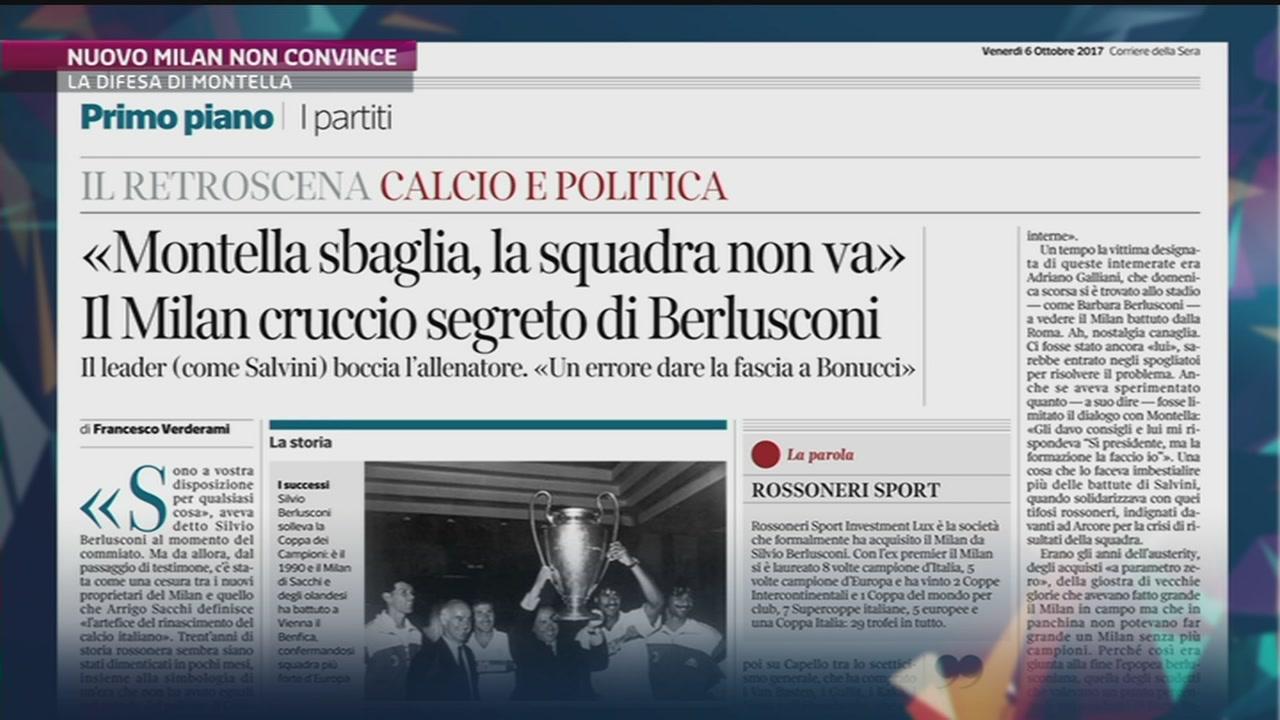 La delusione di Berlusconi