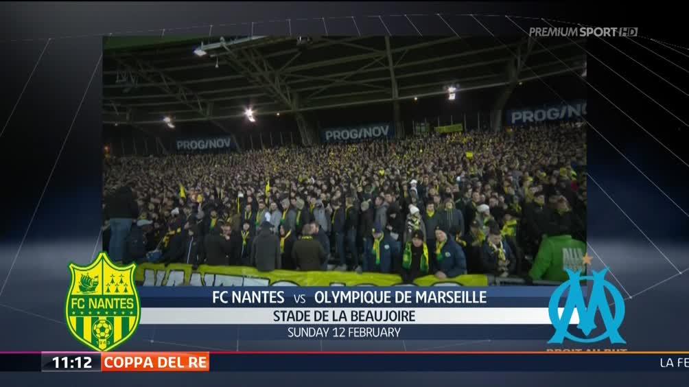 Nantes - Olympique Marsiglia 3-2
