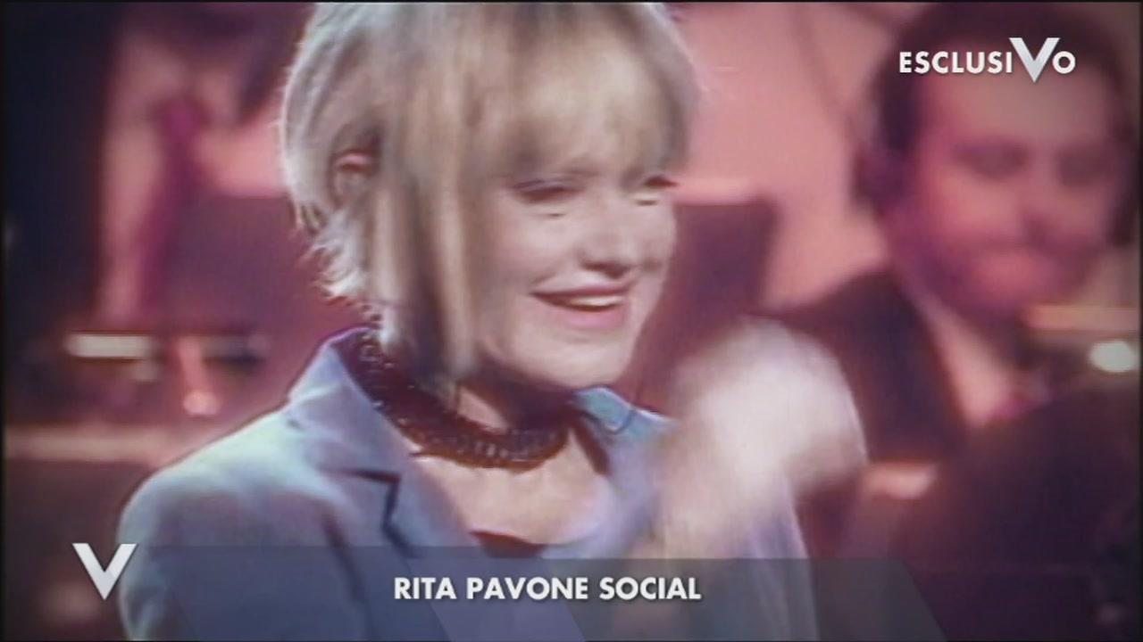 Rita Pavone social