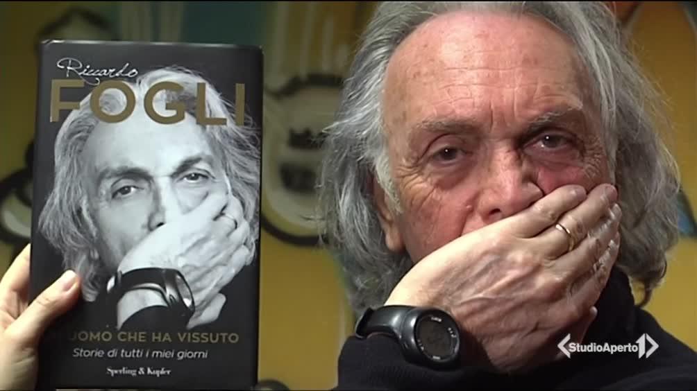 Riccardo Fogli e il suo ultimo libro