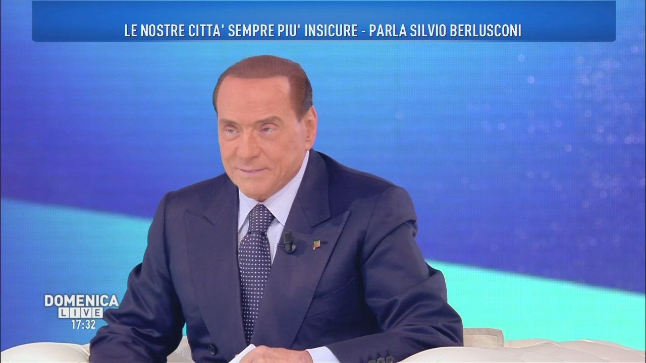 Silvio Berlusconi e gli avversari politici