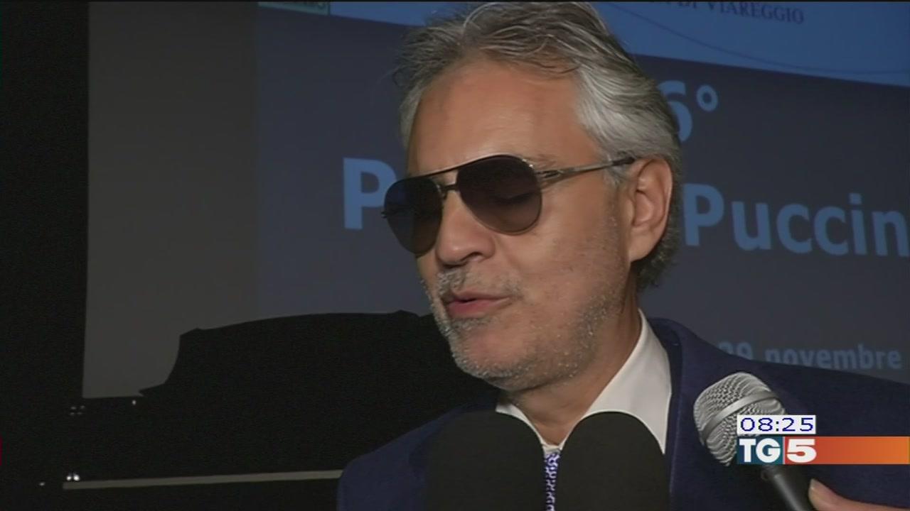 Premio Puccini per Andrea Bocelli