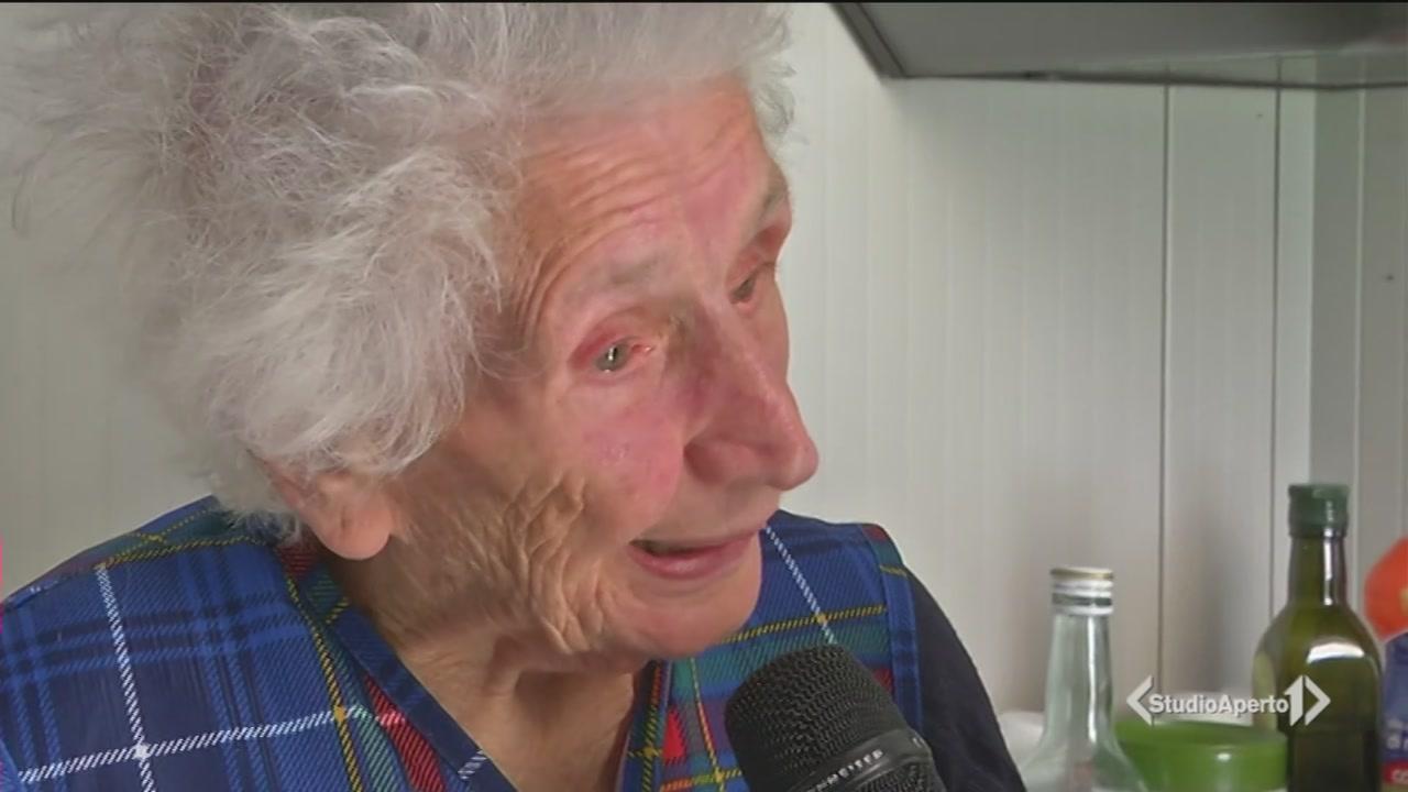 """""""Ho 95 anni e non me ne vado"""""""