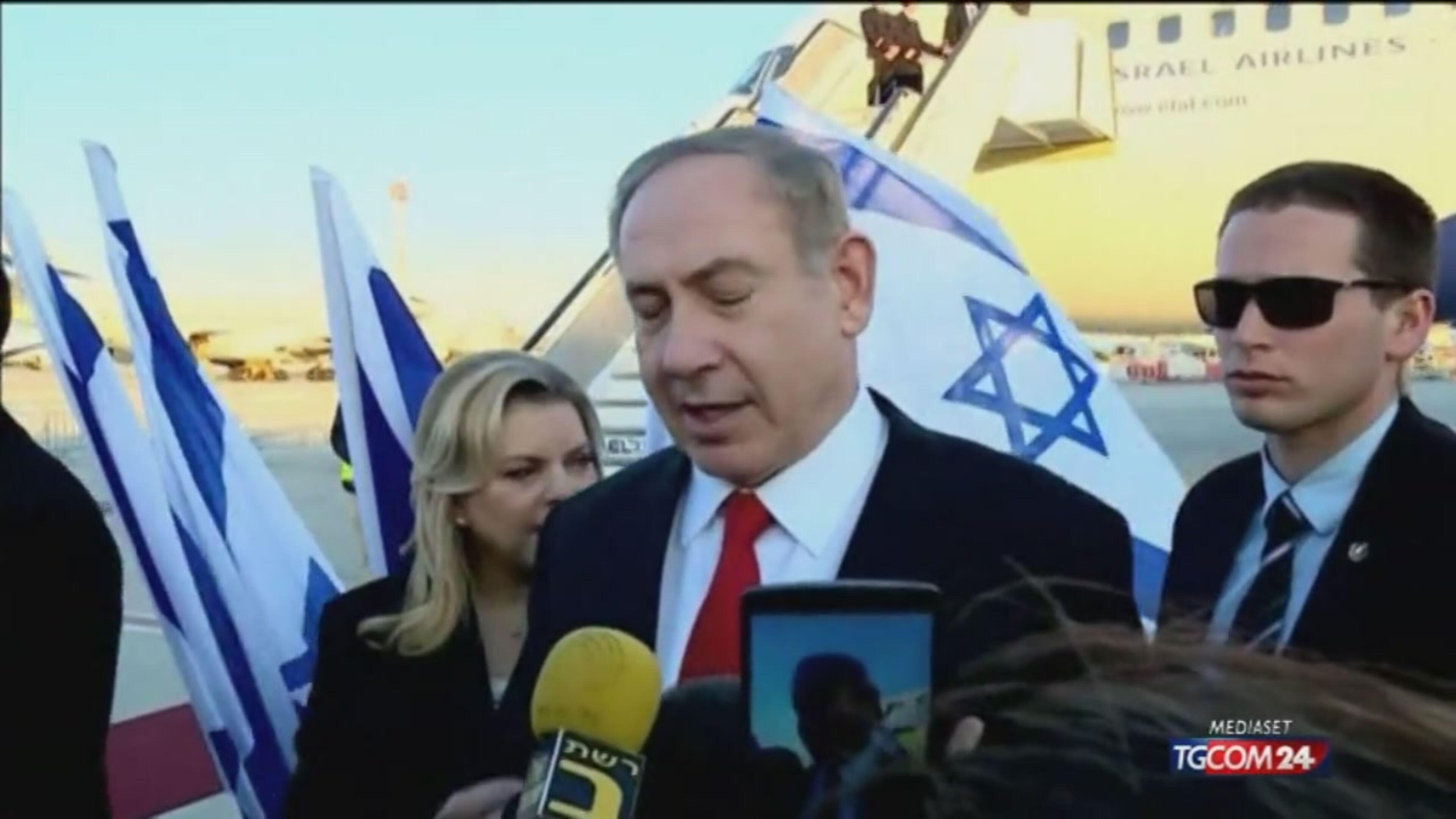 """M.O., Trump a Israele: """"Nuovi insediamenti male per la pace"""""""