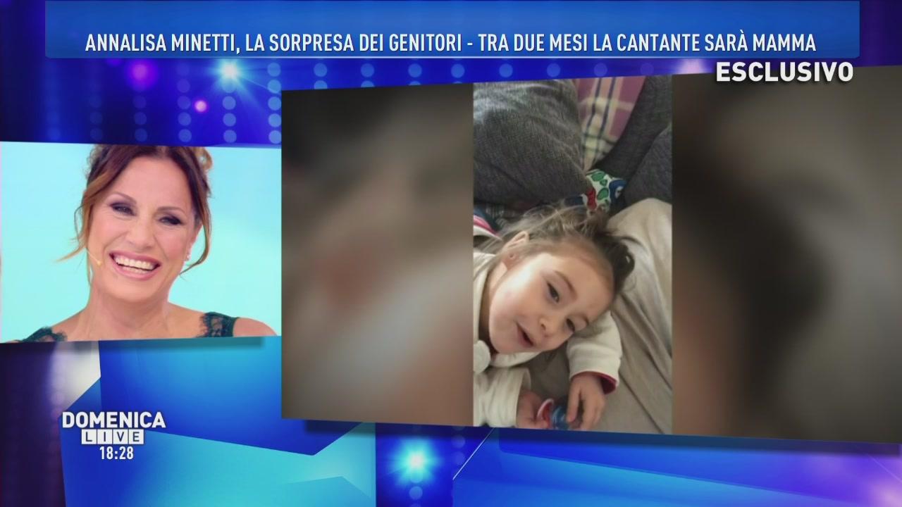 Annalisa Minetti: il saluto della sorella