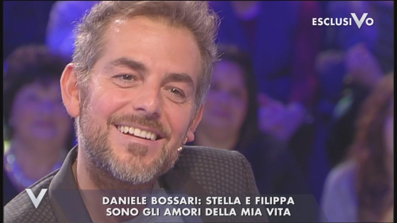 Daniele Bossari e la famiglia