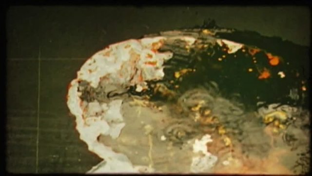 Esperimento di Film Nucleare (Joe Colombo e Enrico Baj, 1952)
