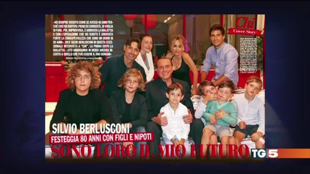 Berlusconi, 80 anni pensando al futuro