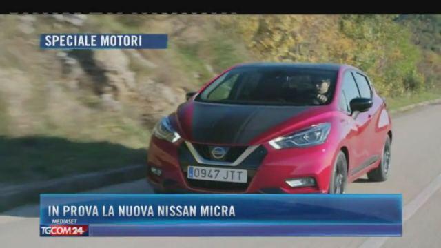 In prova la nuova Nissan Micra