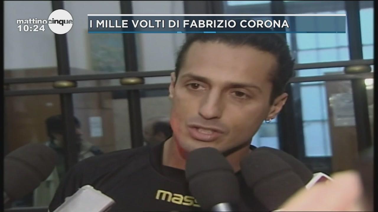 I mille volti di Fabrizio Corona