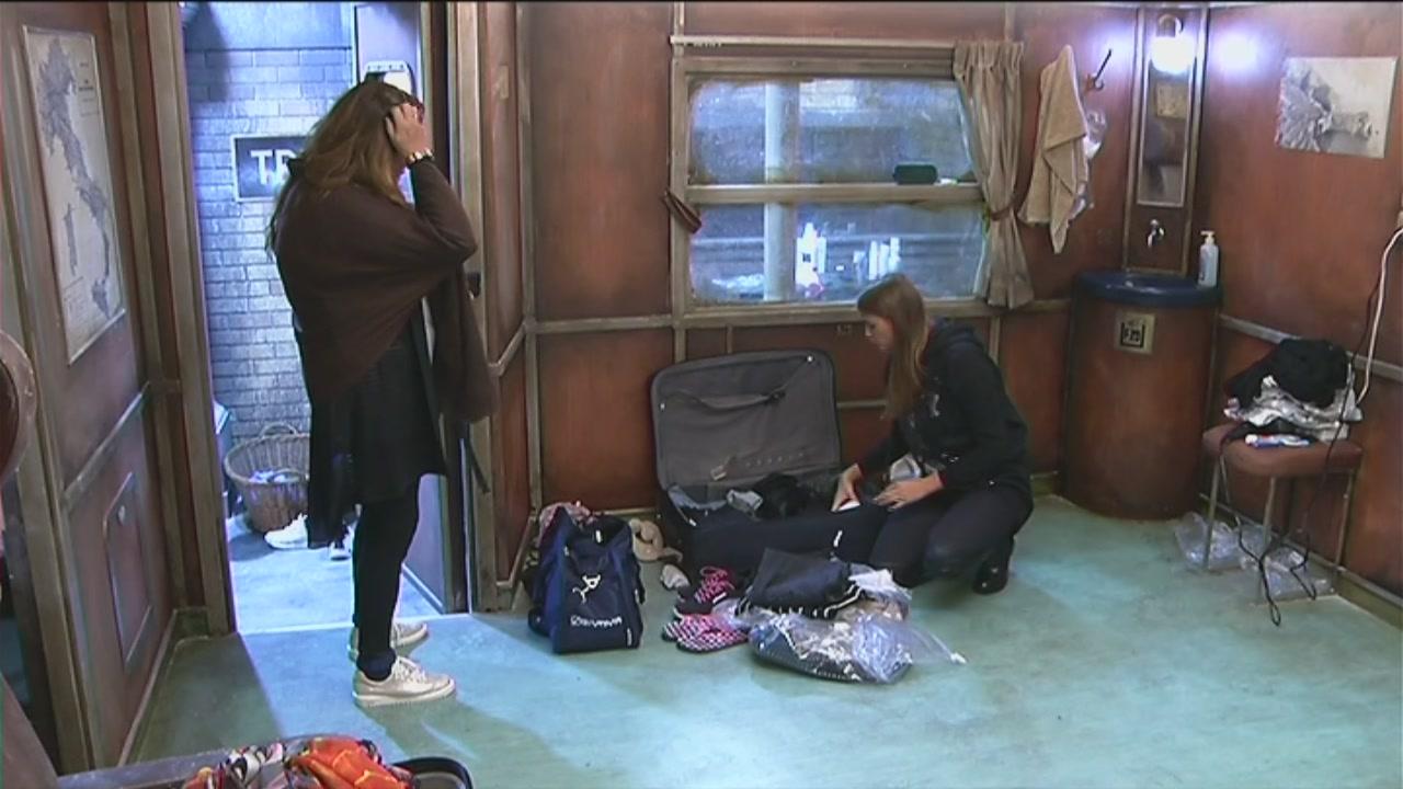 Ivana prepara la valigia