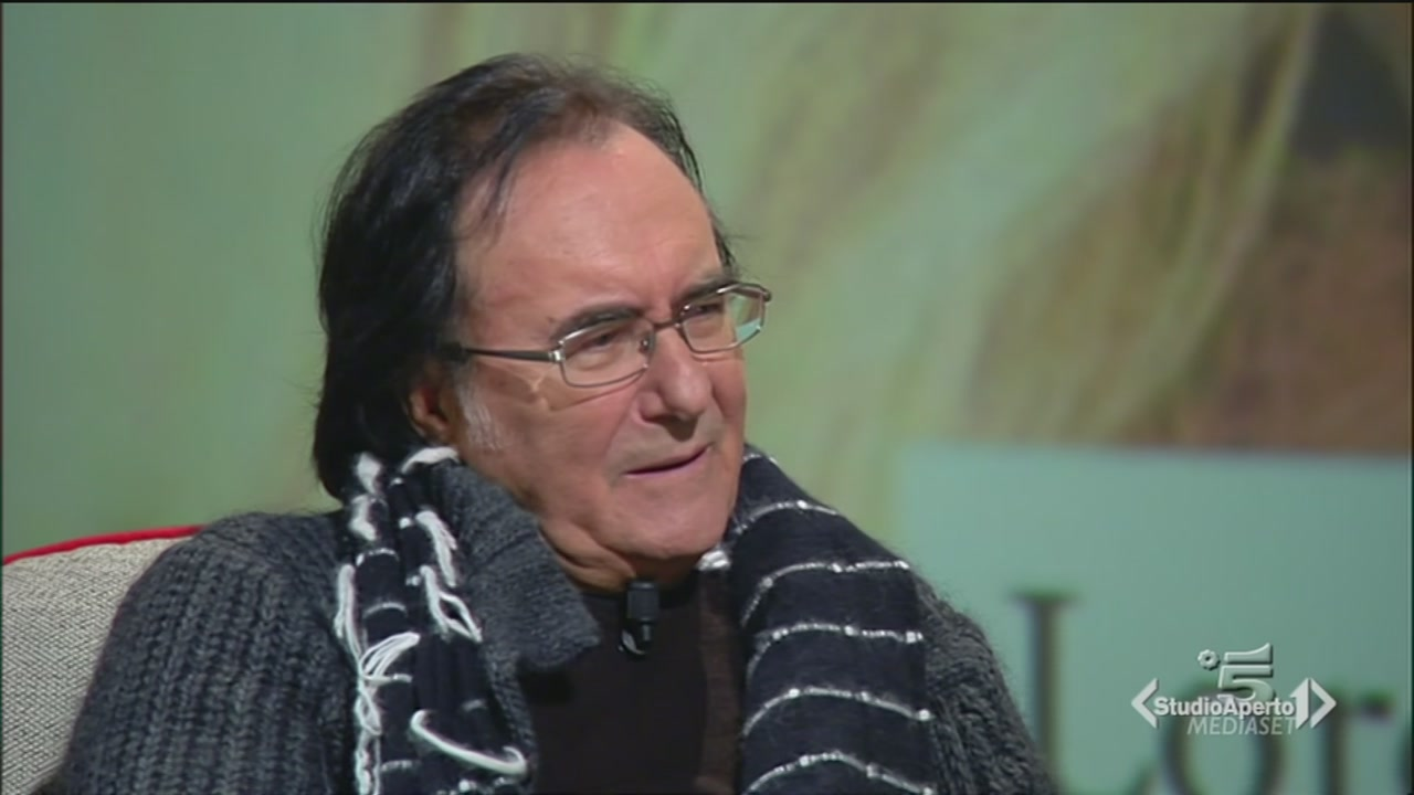 Albano si confessa da Maurizio Costanzo