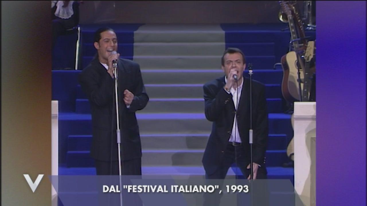Fiorello e Max Pezzali: un'esibizione indimenticabile