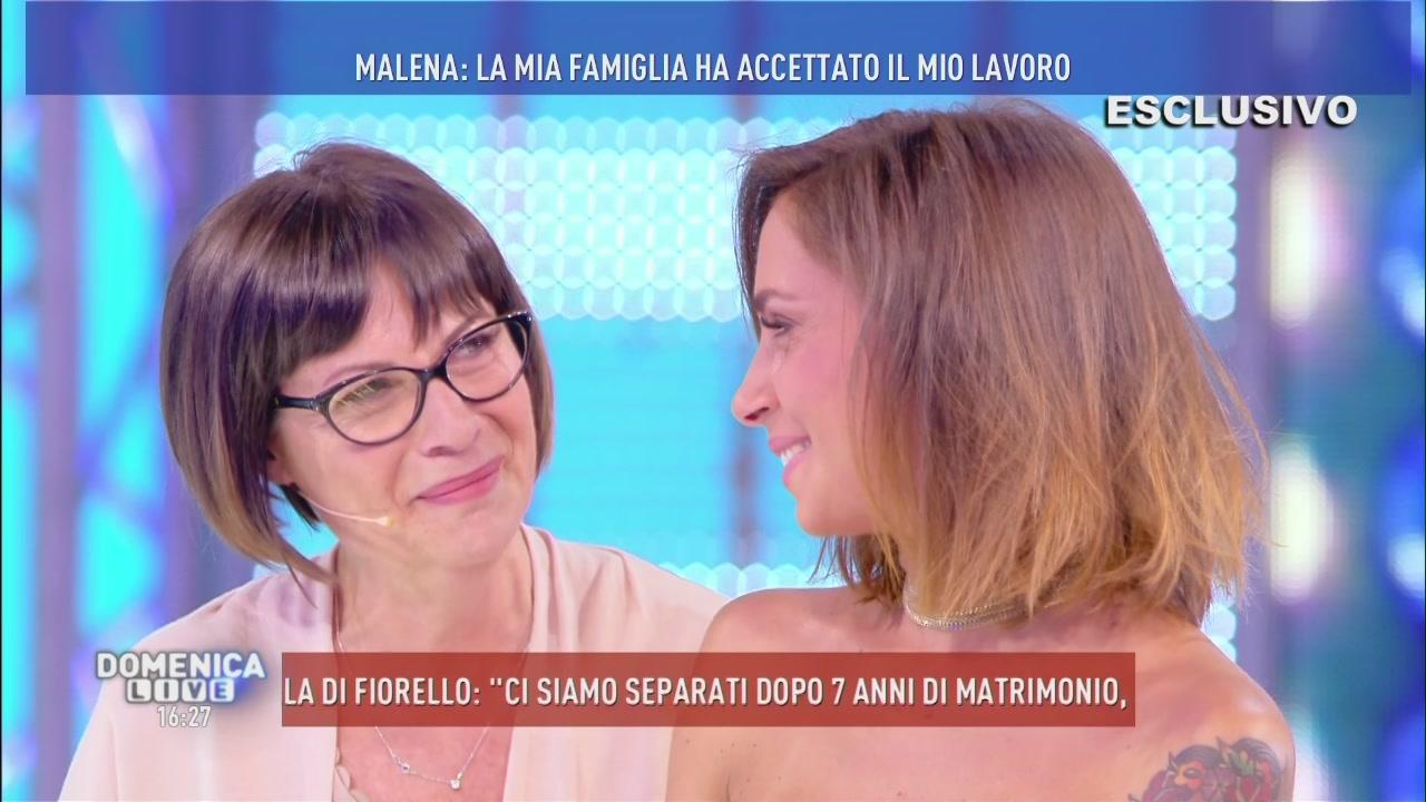 Malena e sua mamma